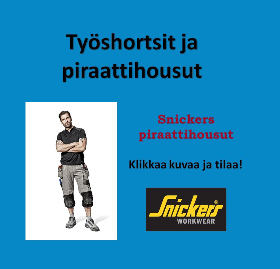 Snickers piraattihousut