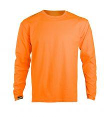 Dimex huomiovärinen pitkähihainen t-paita 4369