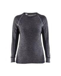Blåkläder naisten merinovillainen aluspaita 7200